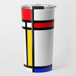 Mondrian Travel Mug