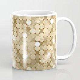 Gold glitter texture Coffee Mug