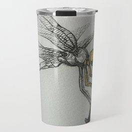 Fire-breathing Dragonfly Travel Mug