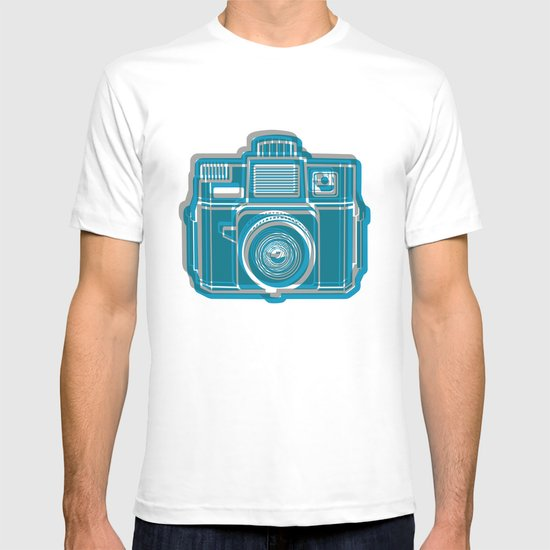 I Still Shoot Film Camera Logo T-shirt