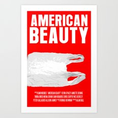 American Beauty Movie Poster Art Print