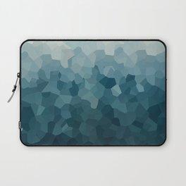 Ice Blue Mountains Moon Love Laptop Sleeve