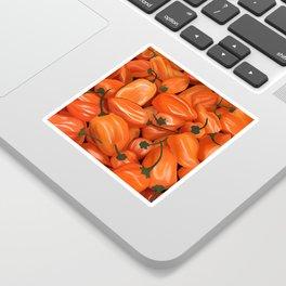 Habanero Peppers Sticker
