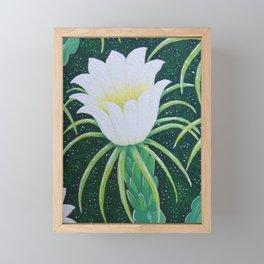 Dragonfruit Flower Framed Mini Art Print