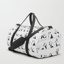 Panda Yoga Duffle Bag