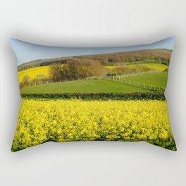 April in England Rectangular Pillow