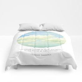 The beauty of the dreams Comforters