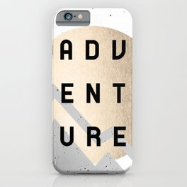 Adventure Golden Sunrise iPhone Case