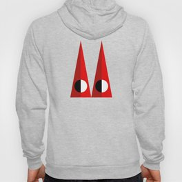 A GEOMETRICAL SUSPECT Hoody