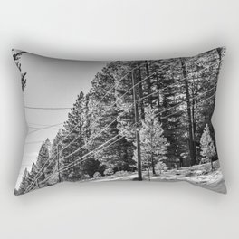 Fire Line Rectangular Pillow