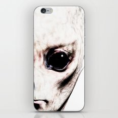 Visitor From Beyond iPhone & iPod Skin