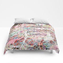 Prague map Comforters