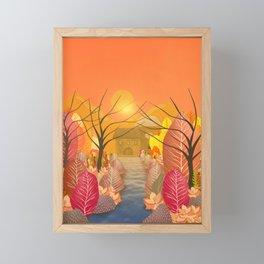 Mystery Garden VIII Framed Mini Art Print
