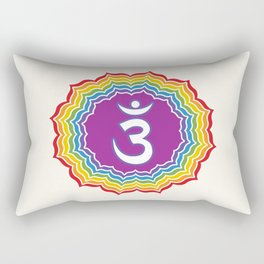 Third Eye chakra Rectangular Pillow