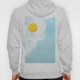 Fried by the beach Hoody