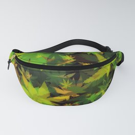 Candys Crazy Cannabis Camo Fanny Pack
