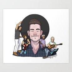 Liam's Boys Art Print