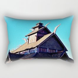 Norwegian Architecture 1 Rectangular Pillow