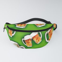 Green beers forever Fanny Pack