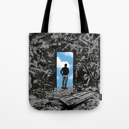 The Optimist Tote Bag
