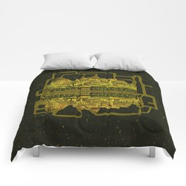 Space Colonization Comforters