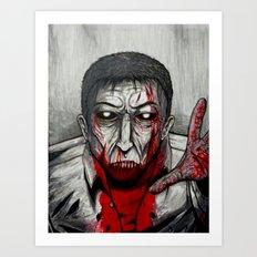 I Wanna Hold Your Hand Art Print