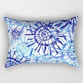Circles Tie Dye Rectangular Pillow