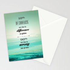 CONFLICTS Stationery Cards