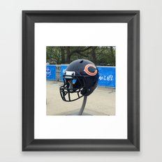 Bears Helmet Color Photo Framed Art Print