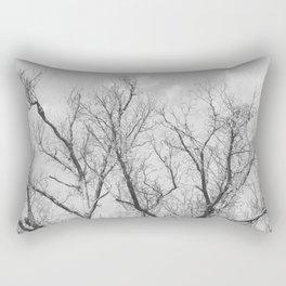 """""""Winter Starkness"""" by Murray Bolesta! Rectangular Pillow"""