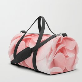 Pink flora Rose Bud- Roses and flowers Duffle Bag