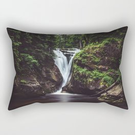 Pure Water - Landscape and Nature Photography Rectangular Pillow