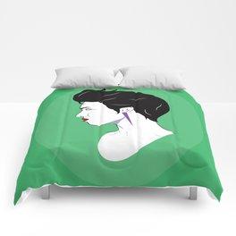 BianCamée Vert Comforters