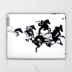 Black horses Laptop & iPad Skin