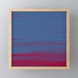 Bluered Acrylic Framed Mini Art Print