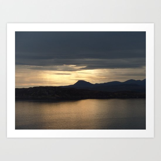 Loch Ewe Art Print