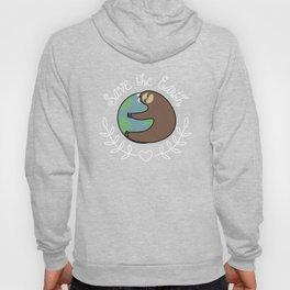 Save The Earth Sloth Hoody