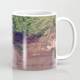 Mangrove Trees on the Mekong River Bank Laos Coffee Mug