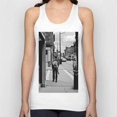 Life In a Guitar Town Unisex Tank Top