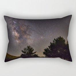 Milkyway at the mountains. Saggitarius Antares and Rho Ophiuchus Rectangular Pillow
