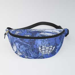 Stormy Blue Lagoon Fanny Pack