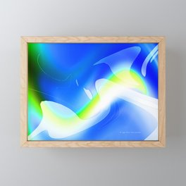 """'70's Lava Lamp"" Photograph Framed Mini Art Print"