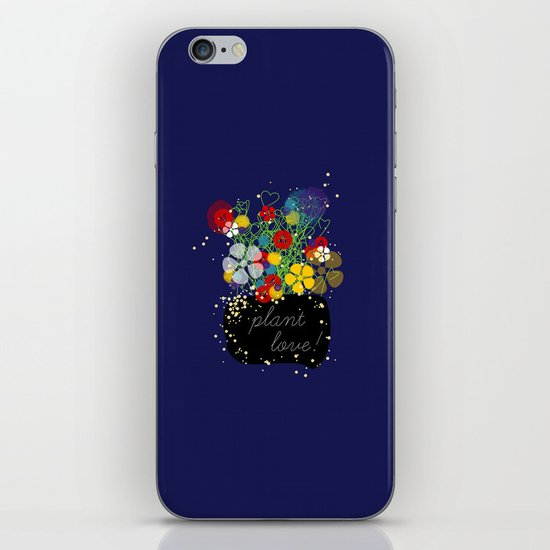 Plant Love! iPhone & iPod Skin