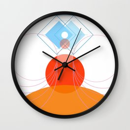 butterfly circus Wall Clock