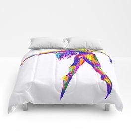 Neon Dancer Comforters