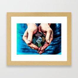 Advent Guard Earth Heart Framed Art Print