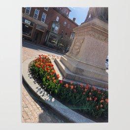 Longfellow Tulips Poster
