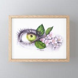 Apple of my eye Framed Mini Art Print