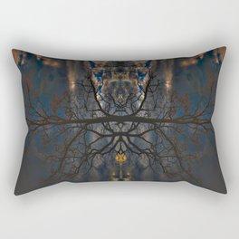 Treeflection II Rectangular Pillow