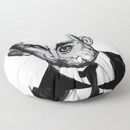 John Dillinger Mug Shot Floor Pillow